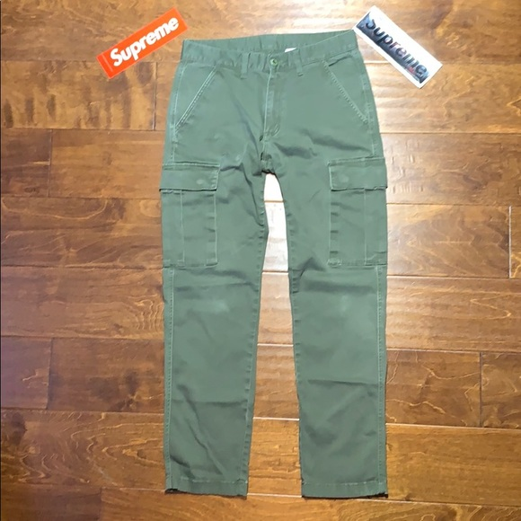 Active Ride Shop Other - SOLD ARCHIVE Figgy skateboarding green cargo pants